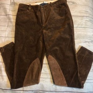 Ralph Lauren Brown Knee Patches Corduroy 6 Fall